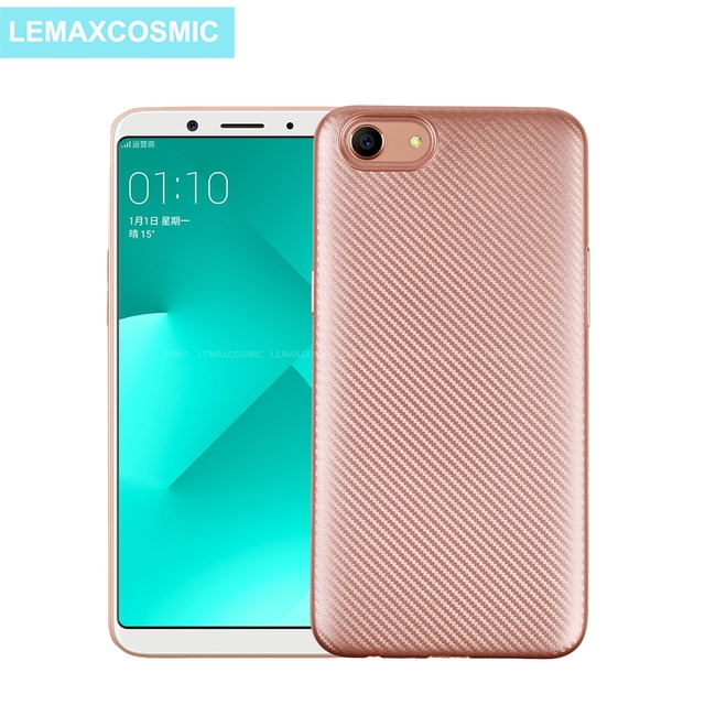 new style 072e9 21eb7 US $2.75 |Carbon Fiber Texture Soft Silicone TPU Case Back Cover For OPPO  A71 2018 A1 A83 A79 A73 A57 A59 A39 F7 F5 Youth F3 R9 R9s Plus-in Fitted ...