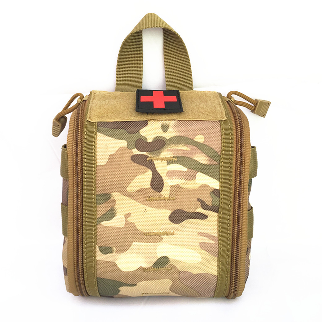 2017 NEW Tactical Ifak First Aid Bag MOLLE EDC Pack Medical Military Utility Pouch rescue package for camping hunting hiking