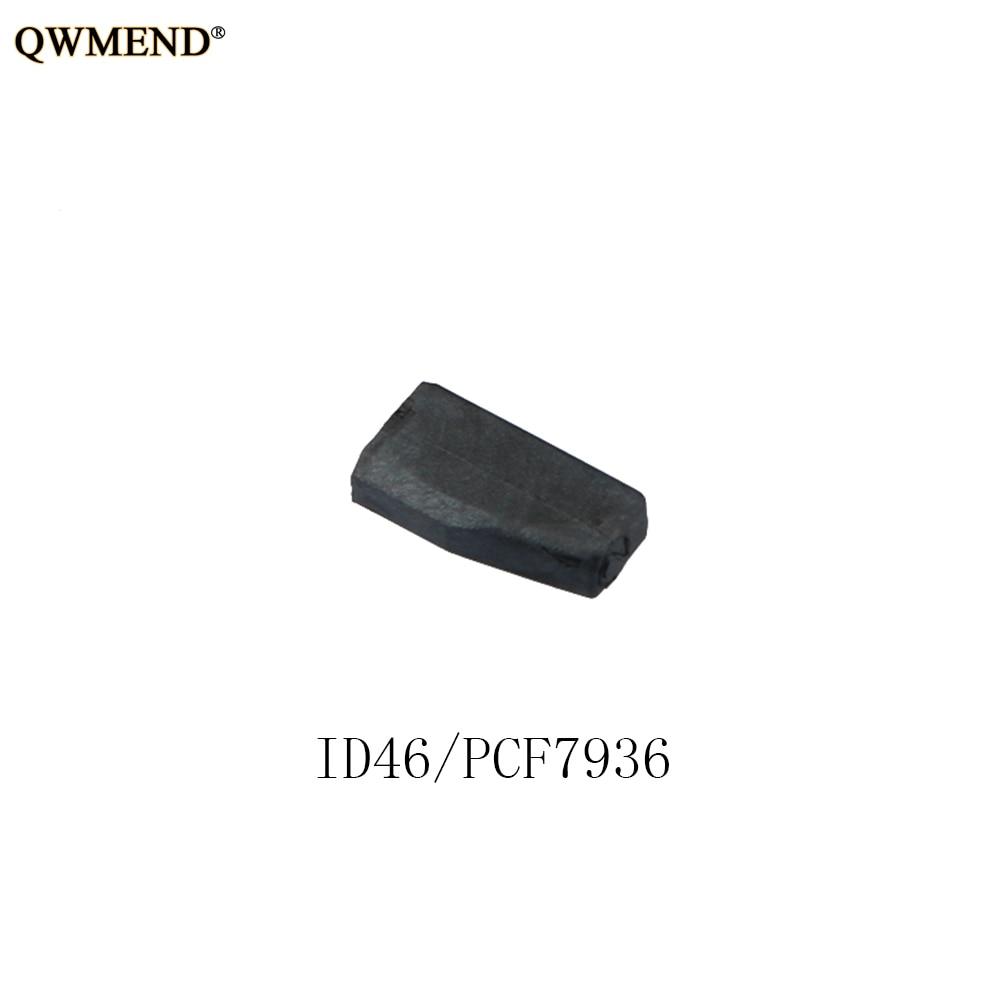 QWMEND New /Blank /Not Coded Car Key Transponder Chip For Honda Hyundai Kia Mitsubishi Nissan Citroen Peugeot ID46 PCF7936