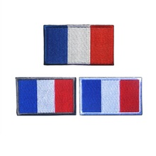 3D high quality 100% embroidery patches armband France flag patch Italy flag patch badges Netherlands flag patch embroidered patches united states montana state flag patch tactical 3d national flags army armband badge