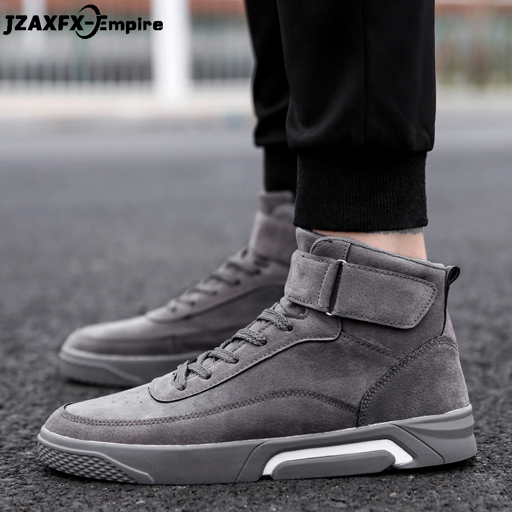 2018 New Lace-Up Canvas Shoes Men Casual High Top Shoes zapatos hombre Walking Ankle Boots Male Fashion Sneaker xiaguocai spring autumn high top men shoes fashion canvas men s casual shoes lace up flat ankle boots for male