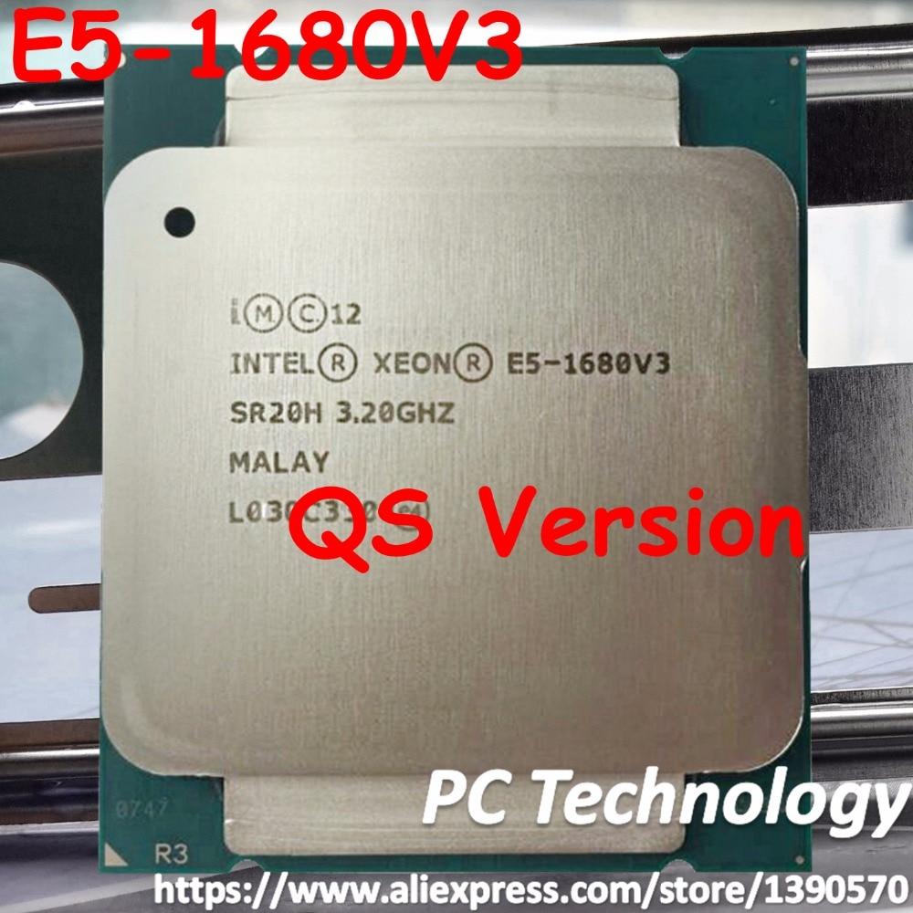 Original cpu Intel Xeon QS versión E5 1680 V3 3,20 GHz 20M 8 núcleos 22NM LGA2011 3 procesador E5 1680V3 envío gratis e5 1680V3-in CPU from Ordenadores y oficina on AliExpress - 11.11_Double 11_Singles' Day 1