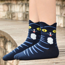 Cats with Hats Socks