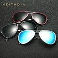 2017 veithdia polarizadas gafas de sol hombres new llegada diseñador de la marca gafas de sol gafas vintage gafas gafas de sol masculino 6693