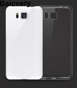 0.6mm Thin Crystal Clear Soft TPU Case for Samsung Galaxy Alpha G850 G850F  G8508S be5237ec54c