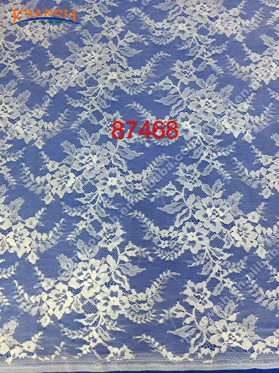 2pcs  Lot French Eyelash lace fabric 150 X 300cm  diy  lace fabric embroidery clothes wedding dress accessories