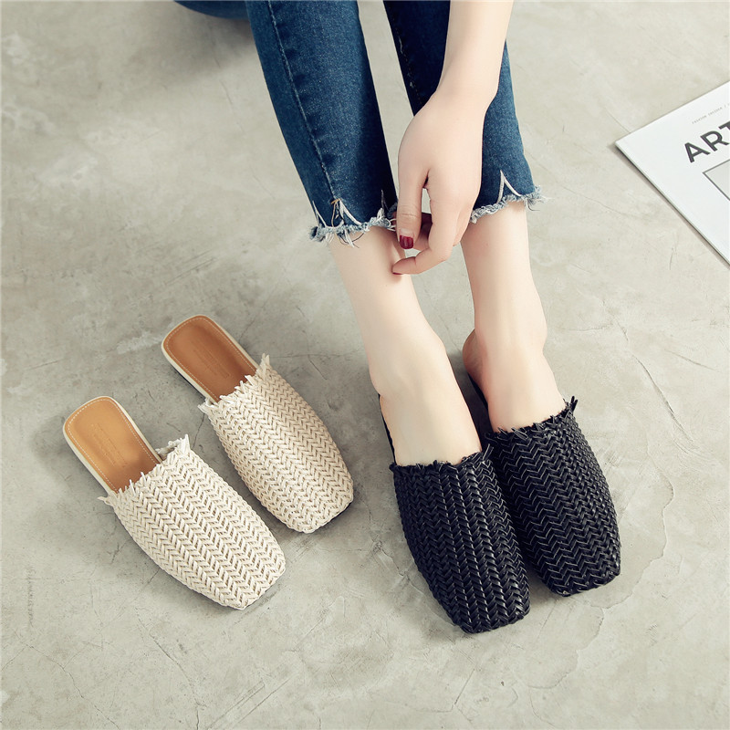 26d12af47 Shoes-Woman -straw-weaving-Slides-fringe-Slippers-low-heel-Mule-hollow-out-square-toe-Sandals-loafers.jpg