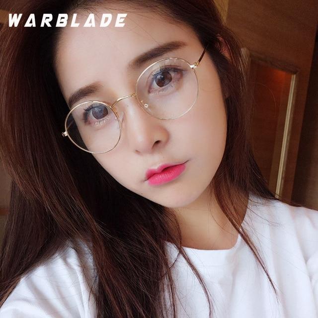 b2e88604322 Round Clear Glasses Spectacles Retro Optical Eye Glasses Frames For Women  Transparent Eyeglasses Eyewear Frame Fake