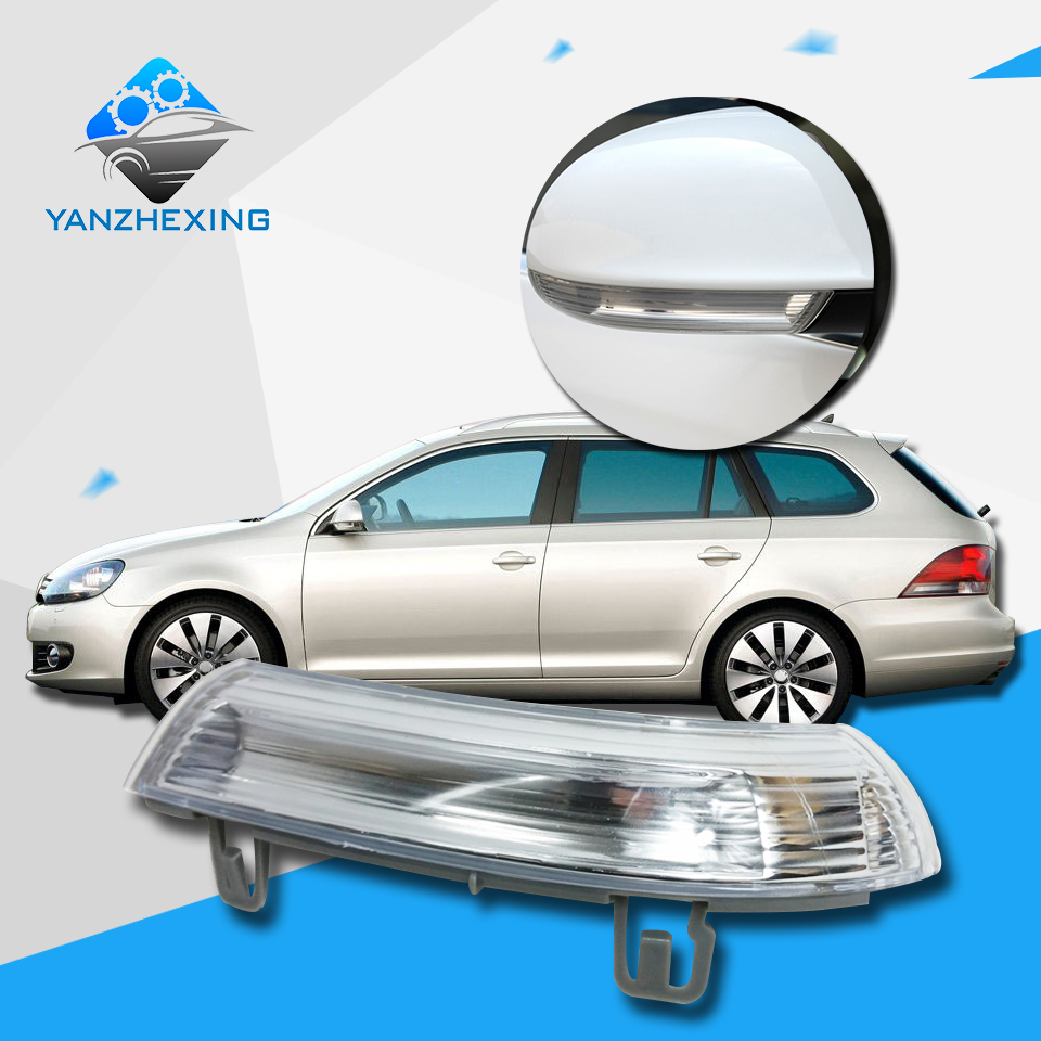 Volkswagen Cabrio Rearview Mirror Rearview Mirror For: Rearview Side Mirror Turn Signal LED Lamp Repeater For VW