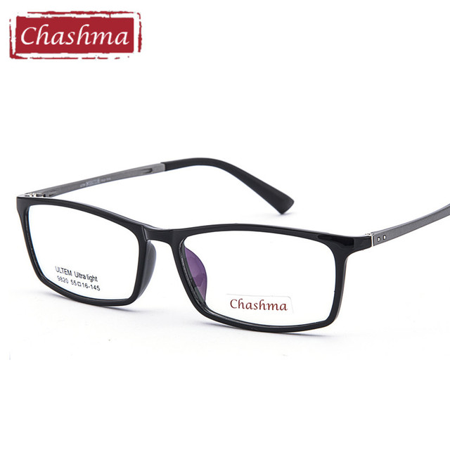 3777ab5a10ebf Chashma Slim Style Ultra Light Frame Eyeglasses Fashion Flexible Gafas Men Ultem  Optical Frames Women Eyeglass Frames