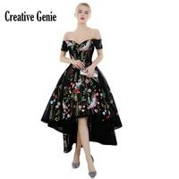Элегантные вечерние платья черного цвета без рукавов с открытыми плечами длиной до пола формальное платье для выпускного вечера вышитые пл