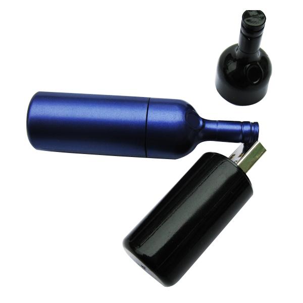 O envio gratuito de venda quente presente da promoção garrafa de plástico solução logo pendrive de 64 gb