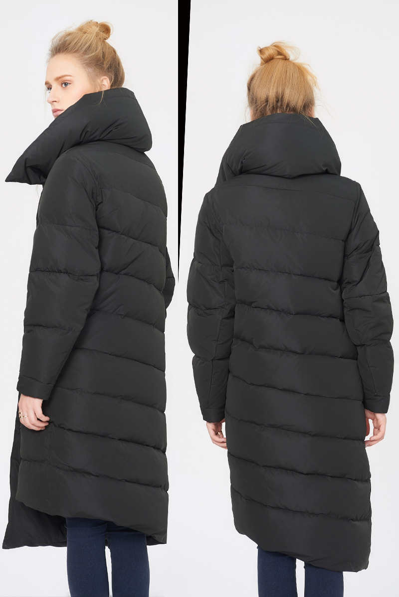 2017 NEW fashion winter and autumn womens down coat jackets Thick warm female