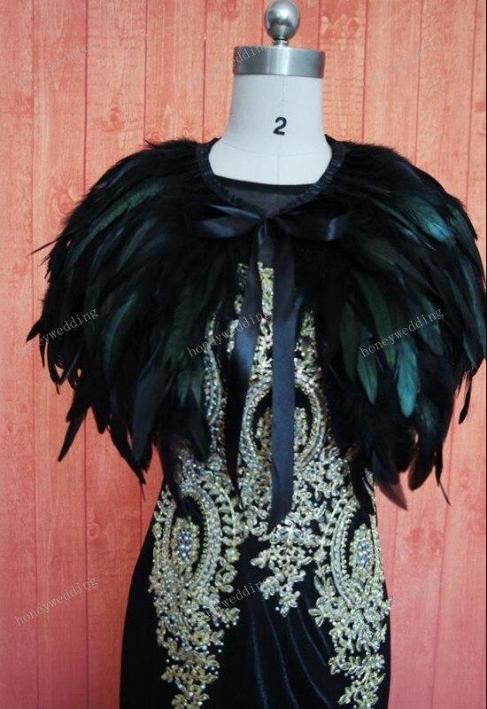 Ruthshen реальное изображение вечернее платье накидка-палантин перо обертывания болеро пальто шаль шарф