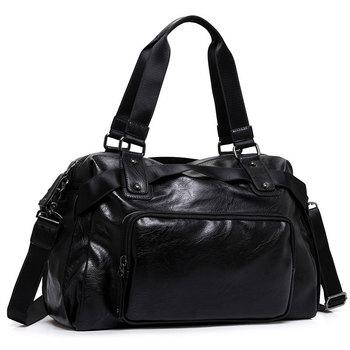 Split Leather Men Male Shoulder Bags Men Handbags Fashion Travel Package Travel Bags Large Capacity Luggage Travel Duffle