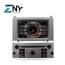 7 Android 9 0 font b Car b font DVD For Peugeot 407 2004 2010 Auto