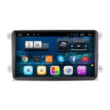 "9 ""Android 4.2 Audio Del Coche Unidad Principal Autoradio Headunit Estéreo para VW Passat CC Polo Golf Jetta Tiguan Touran Caddy Skoda asiento"