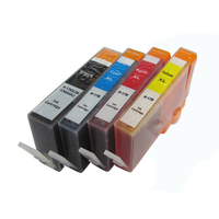 4pcs Ink Cartridge For HP 178 HP178 CN684HJ For HP Photosmart 5510 5520 5515 6510 6520