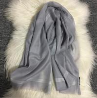 100 Cashmere Scarf Women Extra Soft Warm Gray Pink Black Blue Rose Pashmina Natural Fabric High