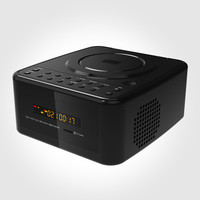 Portable CD DVD VCD player TF card U disk MP3 repeater disc repeat learn machine bluetooth audio FM radio AUX input LED display