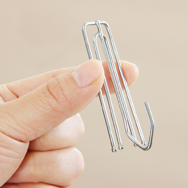 Stainless steel curtain hooks high quality fasteners for top of ...