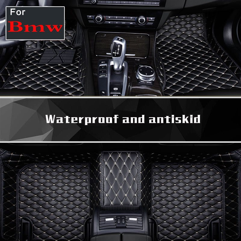Car Floor Mats Leather Car Carpets Pu Leather Floor Pads