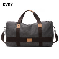 2017 New Retro Men Canvas Handbag High Quality Travel Bag Large Capacity Women Luggage Travel Bag Folding Bag Bolsas Zipper