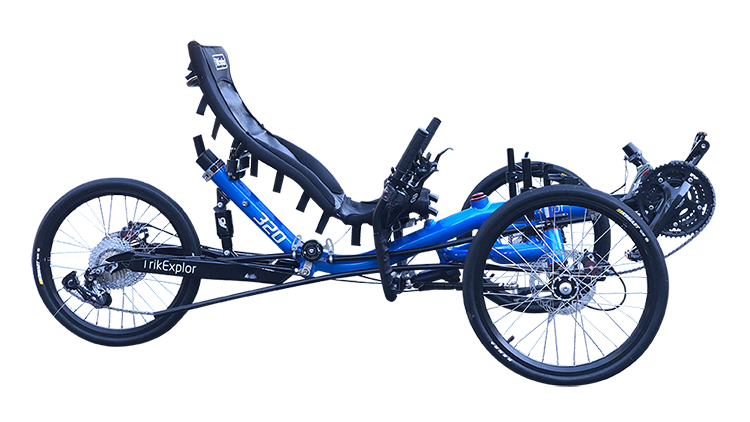 TrikExplor suspension recumbent trikes 320 (2)