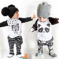 2020 Spring Toddler Baby Boys Clothes T-shirt+Pants Outfits Kids Clothes Sports Suit For Boys Sets Children Clothing 1 3 4 Years