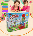 2016 New Colour Clay Toys, Playdough Christmas Colorful Candy World, Plasticine Mold Game Tool Set,Candy Making Machine Learning