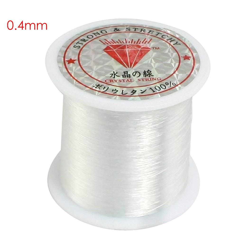 0.3mm Non Elastic Non Stretch Crystal Beading String Cord Thread Fishing Line
