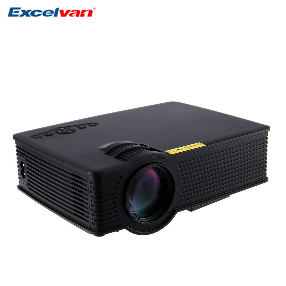 Excelvan GP-9 Mini Projecteur Home Cinéma Théâtre HD LCD Led Projetor USB 2000 Lumens 1920*1080 Pixels Micro PiCo enseignement Beamer