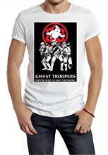 Trooper T shirt Star wars ghost troopers busters logo funny tee movie Free shipping  Harajuku Tops Fashion Classic Unique