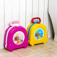 Portable Baby Seat Toilet Cartoon Travelling Baby Potty Car Squatty Potty Kids Toilet Training Potty Child Supplies