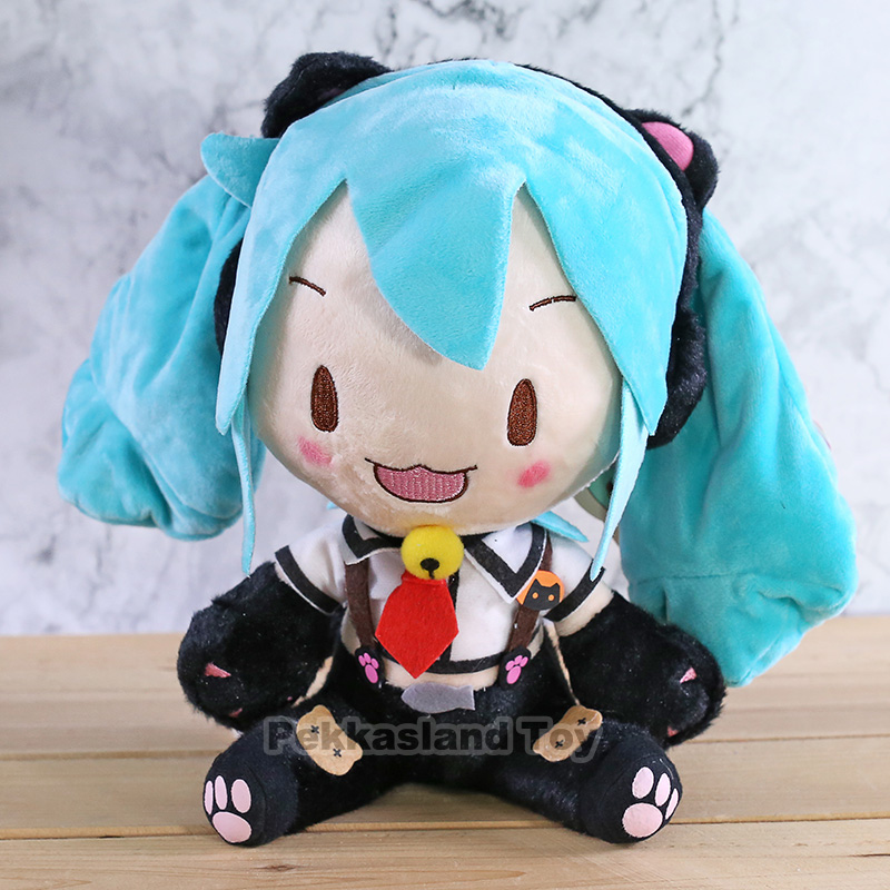 Kawaii Hatsune Miku Plush Doll Toys Anime Stuffed Hatsune Miku Dolls Soft Pillow Children Birthday Gifts For Girls