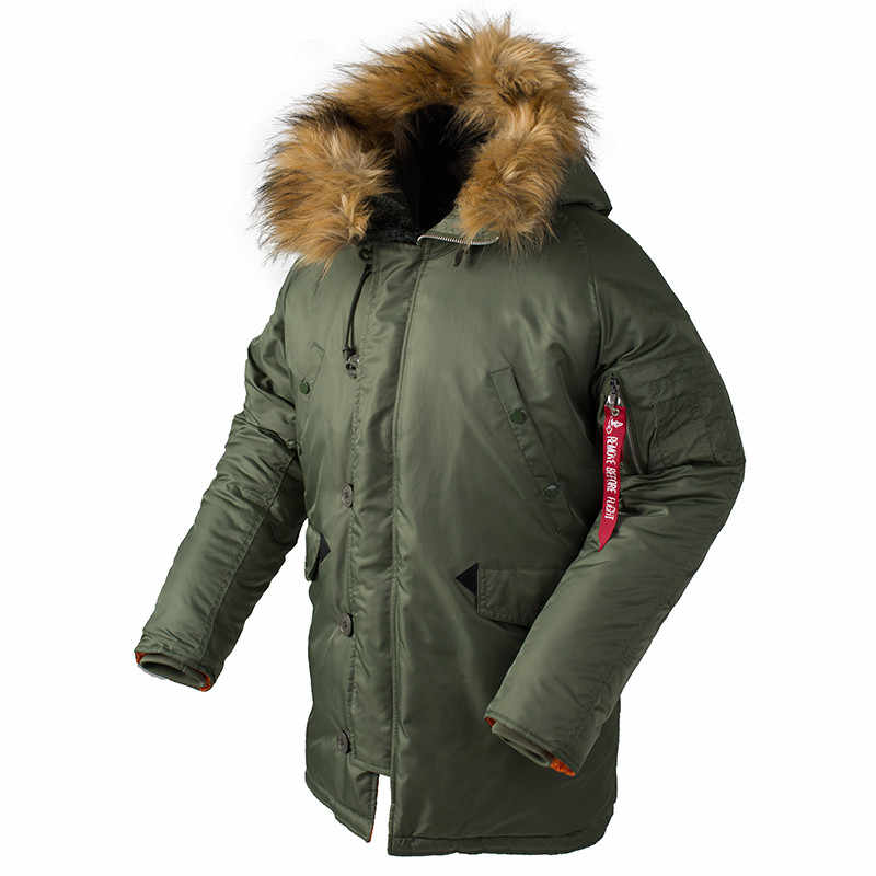 Detail Feedback Questions About 2018 Winter N3b Puffer Jacket Men