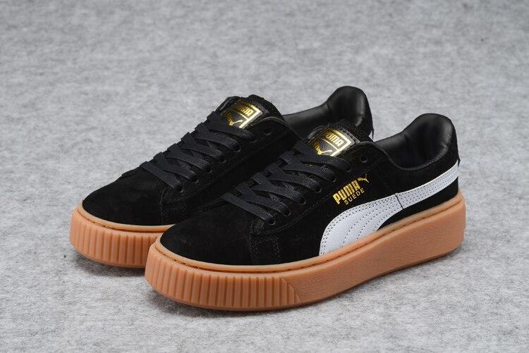 New Arrival  PUMA rihanna Suede Platform creeper Mens shoes Breathable Sneakers Badminton Shoes