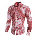 Long Sleeve Shirt Mens Casual Slim Fit Military Shirt Camouflage Spring Social Clothing For Men Prints Latest Design 5084