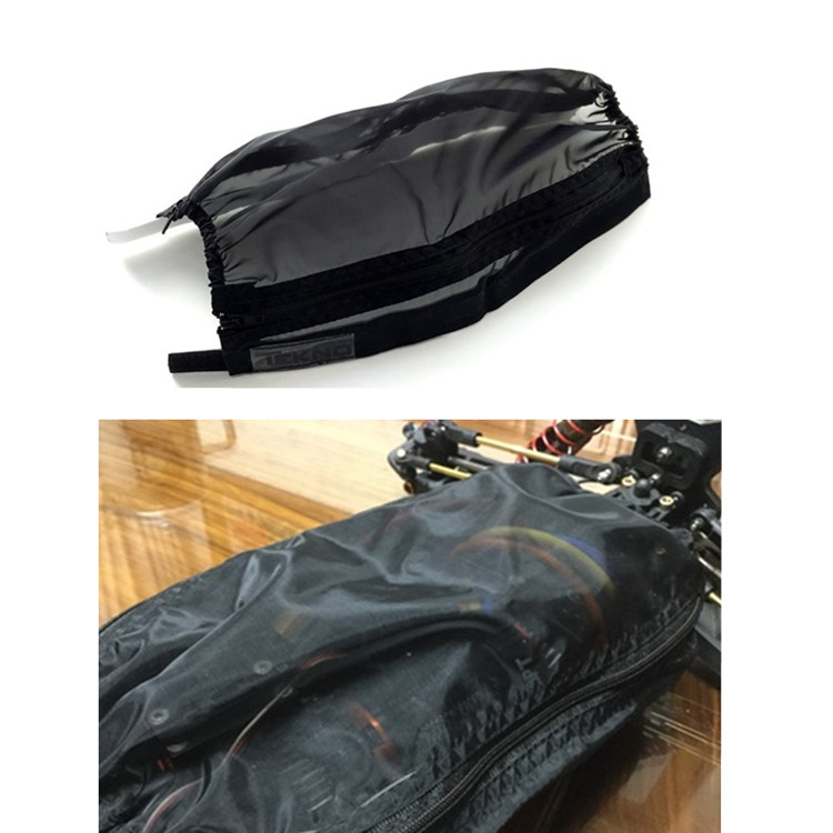 купить RC Car Parts Chassis Waterproof Protective Nylon Dust Cover for 1/10 Tekno MT410 ET48.3 EB410.3