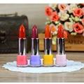 4pcs Makeup Fruit Flavor Jelly Lipstick Set Waterproof Temperature Change Magic Lipstick Lip Gloss Balm Lip Tint