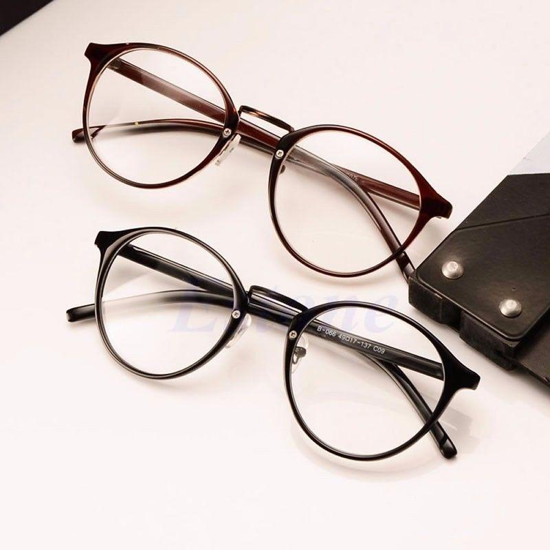 bcbbe81960 Detail Feedback Questions about Fashion Clear Lens Eyeglasses Frame Unisex Retro  Round Eyewear Men Women Glasses on Aliexpress.com