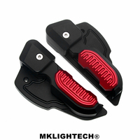 MKLIGHTECH For Vespa Prima 125 150 Sprint 125 150 3vie Foot Rests Passenger Extensions Extended Footpegs Adapter