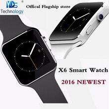 Yds technologie x6 bluetooth smart watch für xiaomi samsung android smartphone armbanduhr unterstützung kamera sim tf karte smartwatch