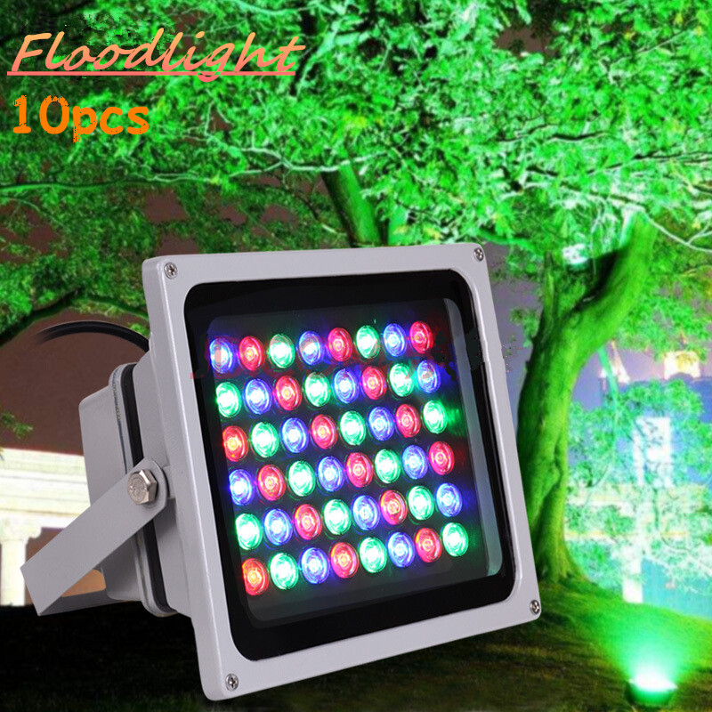 Lights & Lighting Floodlights Cold White/outdoor Advertising Light Waterproof Lamp Elegant In Style 10pcs Led Tree Light Led Floodlight 6w 12w 20w 24w 36w 50w 100w Rgb/ Warm