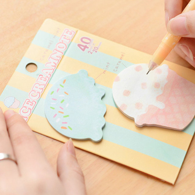 Sticky Notes Cute Cartoon Sticker Post It Bookmark Marker Memo Pads Index Flag