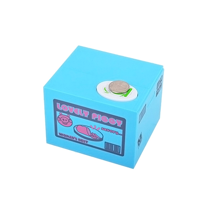 Robotic Stealing Money Pig Toy Coin Bank / Saving Box Great Kids Present