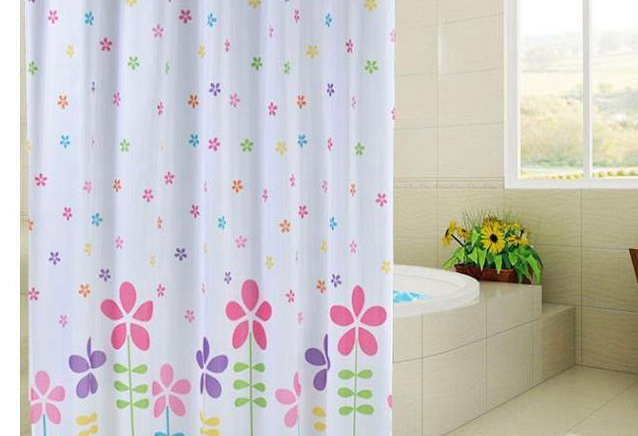 Popular Shower Curtains Flowers-Buy Cheap Shower Curtains Flowers ...