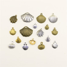 Charms For Jewelry Making Ocean Beach Shell Pearl Accessories Parts Creative Handmade Birthday Gifts(China)