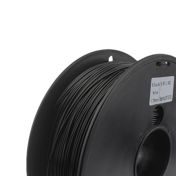 NYLON filament 1.75mm wimpel c 0.03 mm choice 3d nylon black white color 3d filament nylon PA 1 kg filo stampante 3d fil