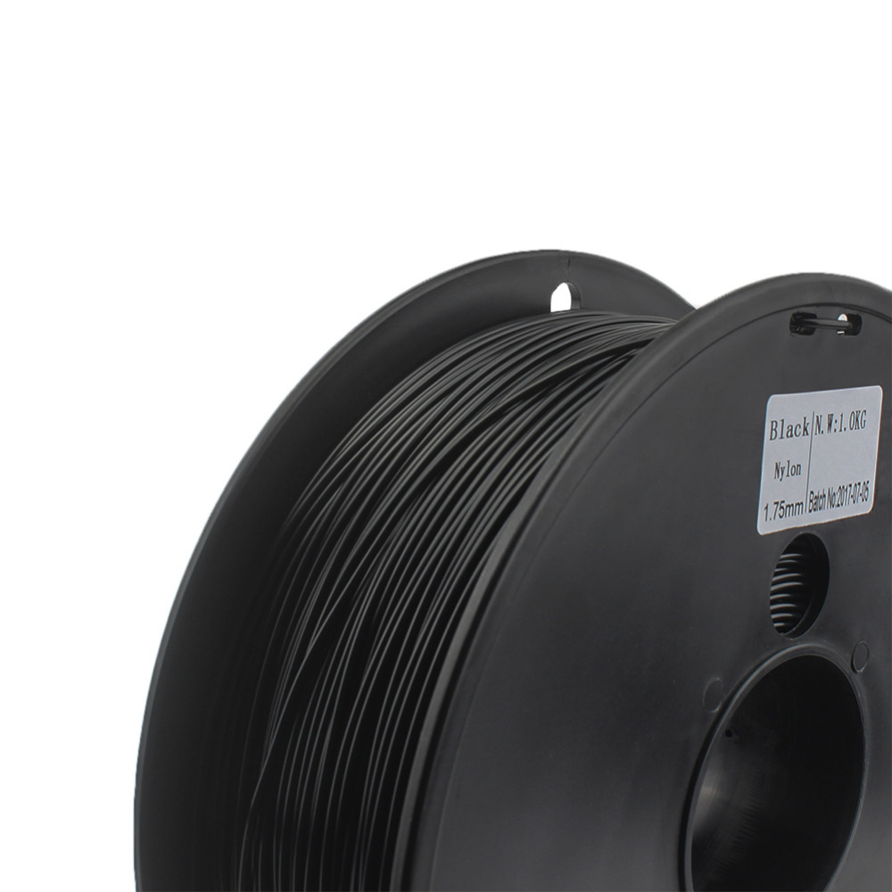 Computer & Büro Büroelektronik Nylon Filament 1,75mm Wimpel C 0,03mm Wahl 3d Nylon Schwarz Weiß Farbe 3d Filament Nylon Pa 1 Kg Filo Stampante 3d Filamento